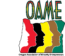 OAME mousepad Logo words
